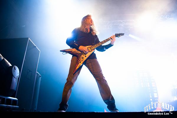Megadeth – Hordern Pavilion, Sydney – October 18, 2015