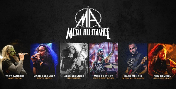 Metal Allegiance are the eleventh artist confirmed for Soundwave 2016!