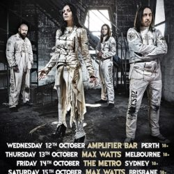 LACUNA COIL Announce National Tour For October