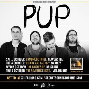PUP Australian Tour Announcement