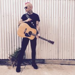 Luke Yeoward (King Cannons, 131's) is making a solo record in the USA & you can help him do it