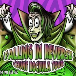 Falling In Reverse: Announce Count Rockula Tour – October 2016