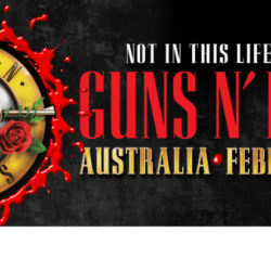 GUNS N' ROSES 'Not In This Lifetime' Australian Tour announced