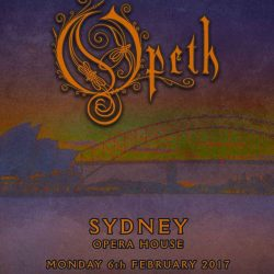 OPETH To Perform At The Sydney Opera House On February 6th 2017