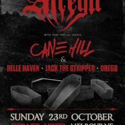 ATREYU + CANE HILL Announce Melbourne Sideshow!
