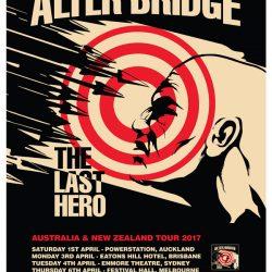 ALTER BRIDGE announce April 2017 Australia/New Zealand Tour