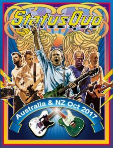 STATUS QUO announce their last ever full-on electric tour – Australian & New Zealand dates in October 2017
