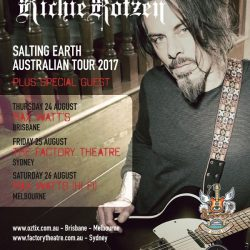 RICHIE KOTZEN 'Salting Earth' – Australian Tour – August 2017