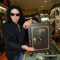 GENE SIMMONS to celebrate 50 years in rock with 'The Vault Experience' limited edition box set