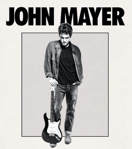 John mayer tour dates