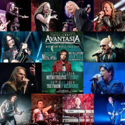 AVANTASIA Announce Cast For May 2019 Australian Tour