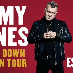 JIMMY BARNES announces Shutting Down Your Town tour!