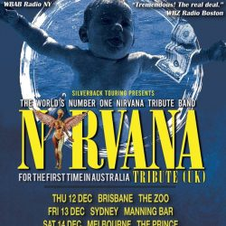 Nirvana Tribute (UK) Announce Australian Tour