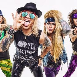 STEEL PANTHER announce Re-Scheduled 'Heavy Metal Rules' Tour February 2021 with SEVENDUST