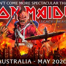 IRON MAIDEN Confirms A Return To Australia On Their Spectacular Legacy Of The Beast Tour