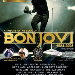 Icons & Legends – A Tribute To The Music of BON JOVI Announce 2021 Australian Tour Dates