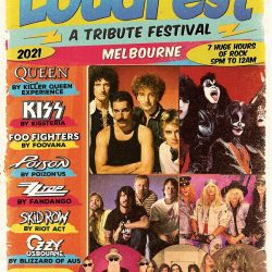 LOUDFEST – A TRIBUTE FESTIVAL – Melbourne – Presented by SILVERBACK TOURING.
