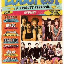 LOUDFEST – A TRIBUTE FESTIVAL – Sydney – Presented by SILVERBACK TOURING